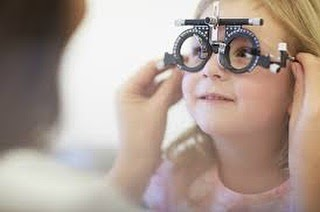 children's eye vision
