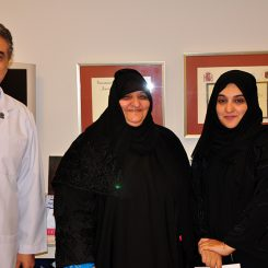 Dr Sakla With Patients