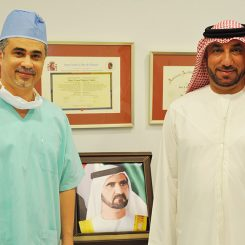 Dr Sakla With Patient
